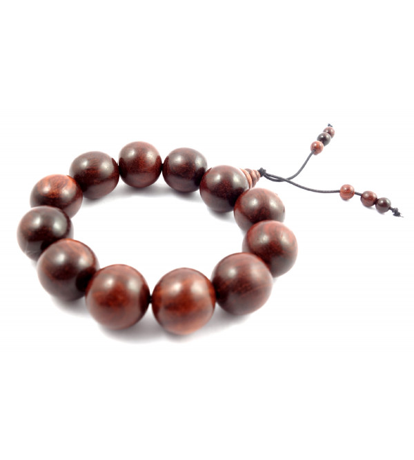 Handicraft Red Sandalwood Bracelet 20 MM