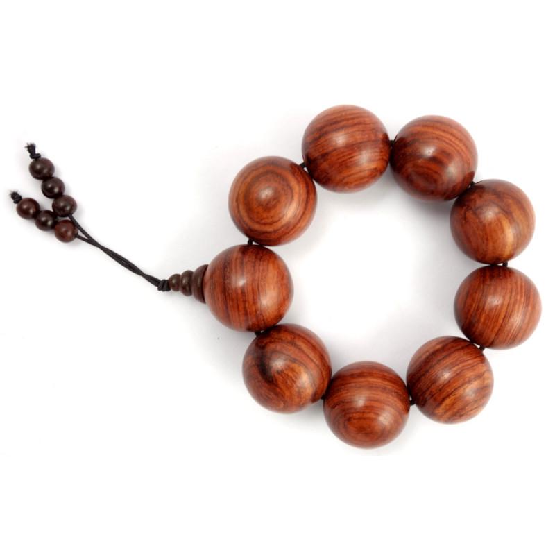 Handicraft Red Sandalwood Bracelet 26 MM