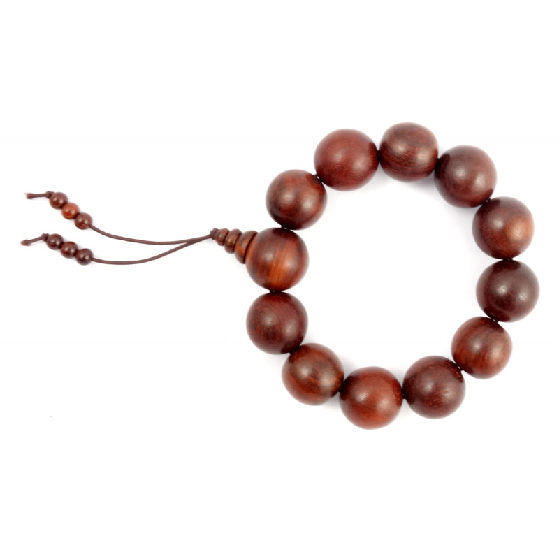 Handicraft Red Sandalwood Bracelet 16 MM 12-13 Beads