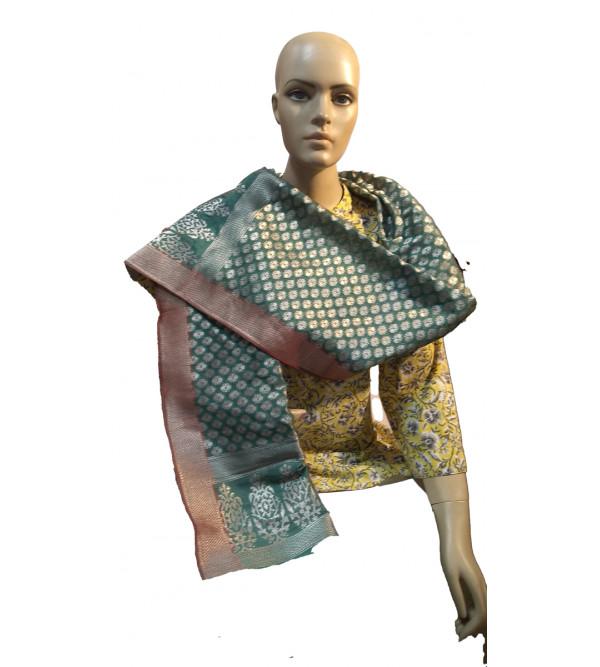 Banaras handwoven Stole Size 22x72 Inch