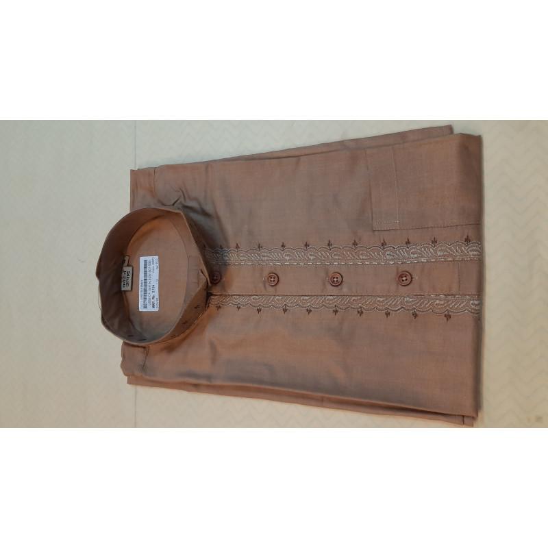 Silk Kurta Handloom Full Sleeve Size 38 Inch