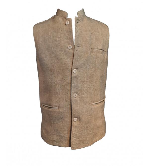 Matka Silk Nehru Jacket size 40 Inch