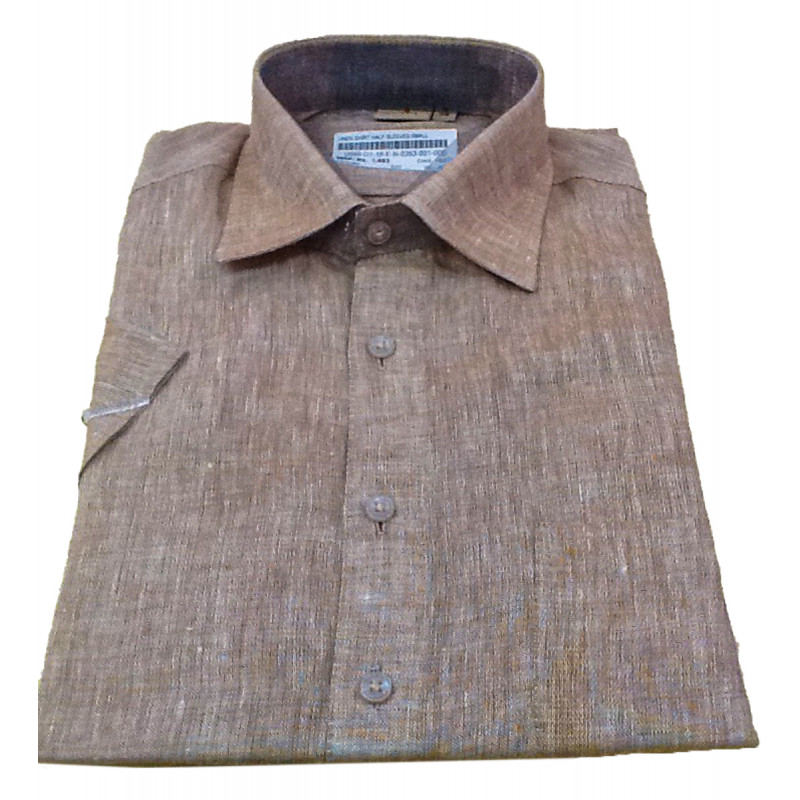 Linen Shirt Half Sleeve Size 38 Inch