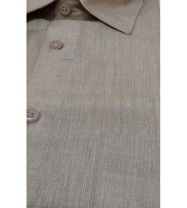 Cotton Shirt Full Sleeve Size 38 Inch