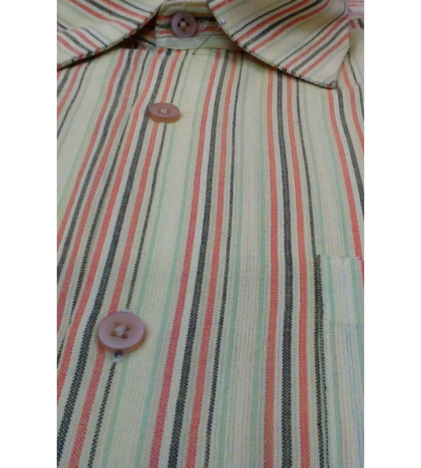 SHIRT FULL SLEEVES COTTON  L