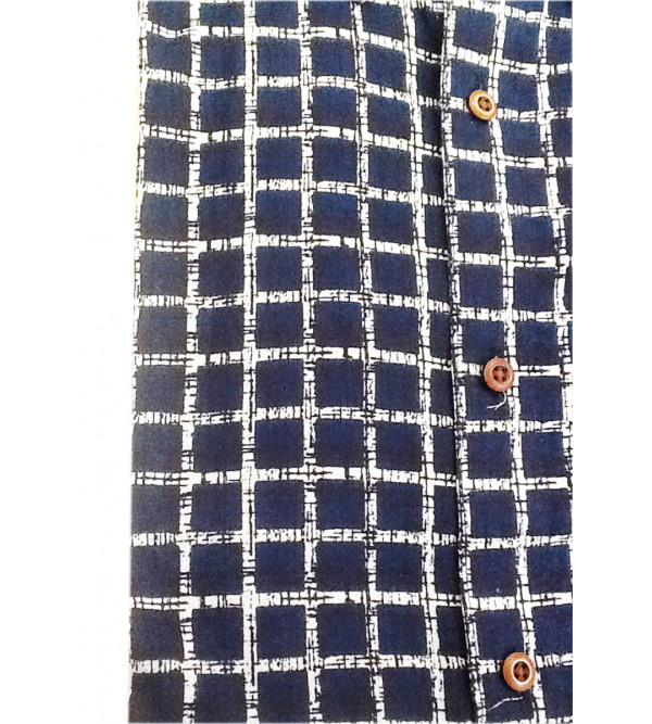 Printed Shirt Handloom Full Sleeve Size 44 Inch