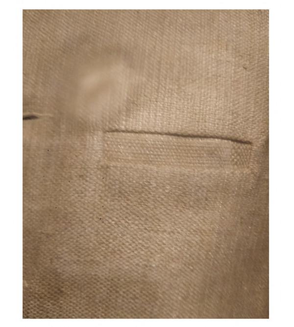 Matka Silk Nehru Jacket size 38 Inch