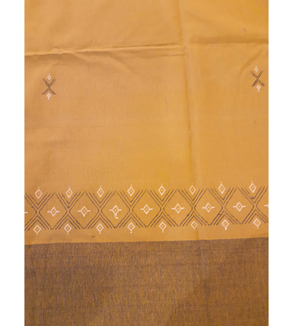 Cotton Handwoven bedcover Size 90x108 Inch