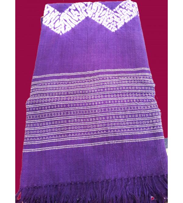Woollen Tye-Dye Stole in Gujarat Size,28X80 Inch