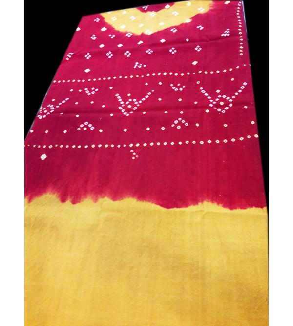 Tie Dye Woollen Shawl Size 38X80 Inch