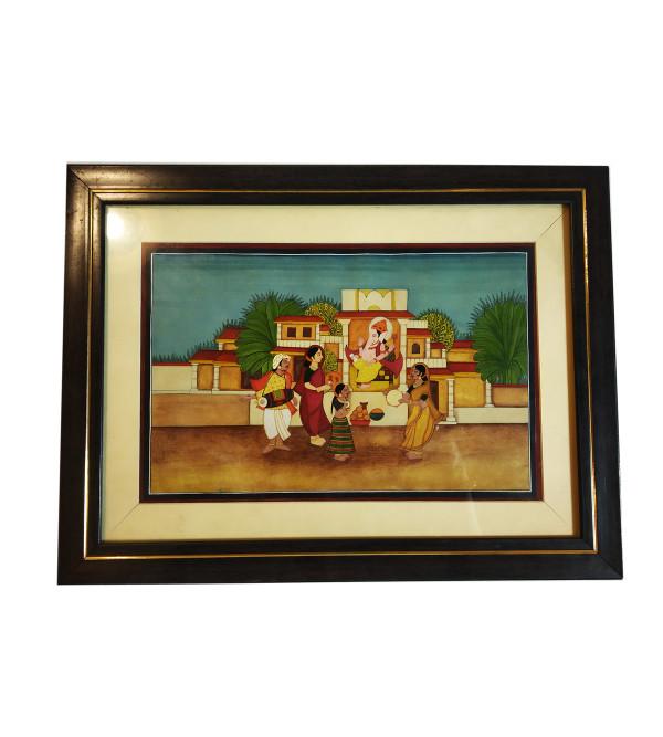 Traditional Handmade Ganesh Painting