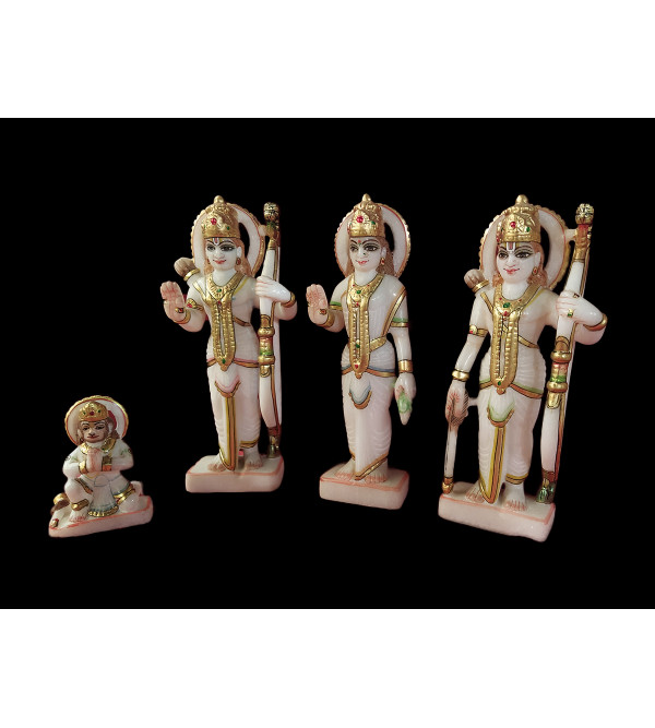 RAM DARBAR IN MARBLE 4 PCS SET