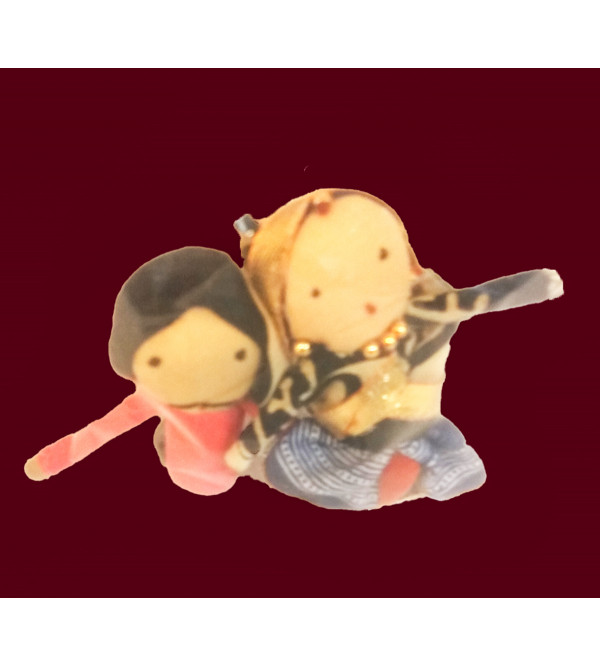 DOLLS MAGNET PAIR ASSORTED COLOR
