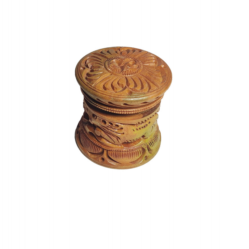 Wooden Powder Boxes Assorted Designs