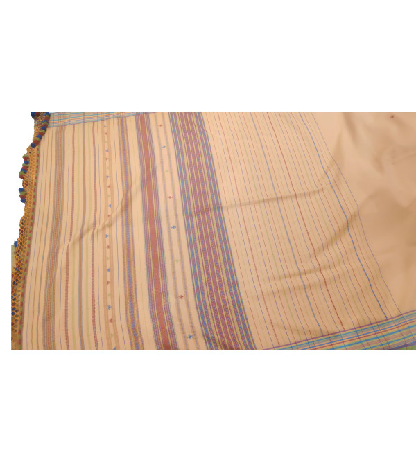 Cotton Gujarat Hand Woven Saree With Blouse