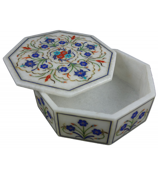 BOXES MARBLE 6X6 Inch Octal Shape