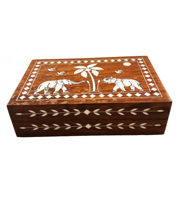 WOODEN BOXES INLAID 3 X 3 INCH 224SF