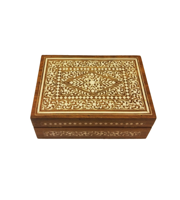 JEWELLERY BOX PLASTIC INLAY 7x5 inch