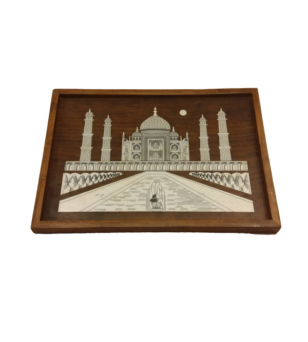 10X18 WALL PLATES TAJ WITH BEADING WP2F. Inlay work