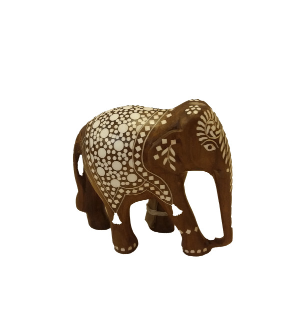 5 inches Elephant Carpet Design inlay work