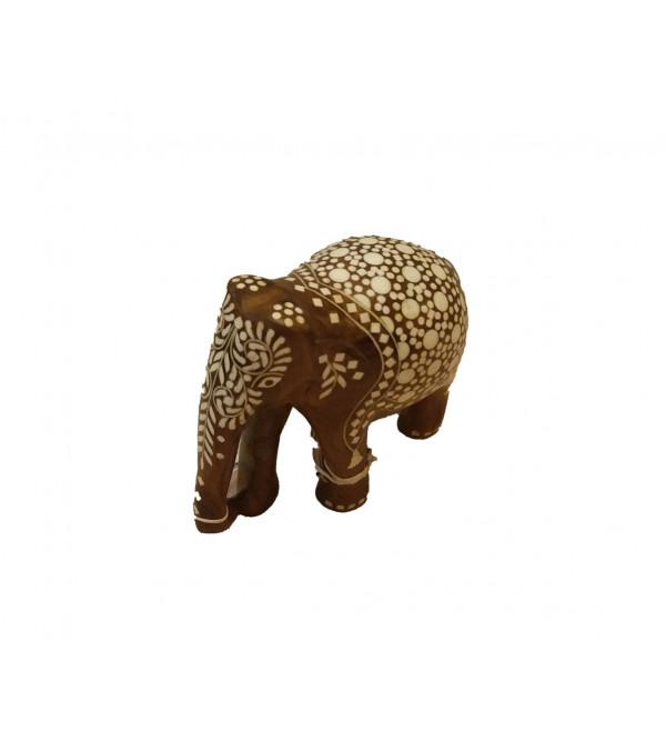 INLAID ELEPHANT TD FINE WORK 5 INCH