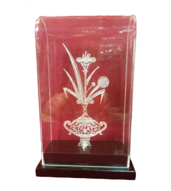 Filigree Silver Handcrafted Flower Vase