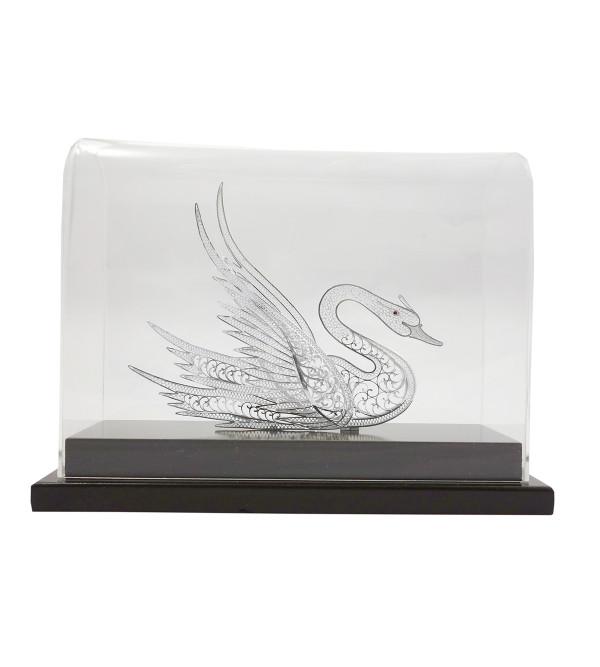 Filgree Silver Handcrafted Swan