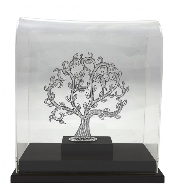 SIL FILIGIRI TREE 9.5X8.5 INCH