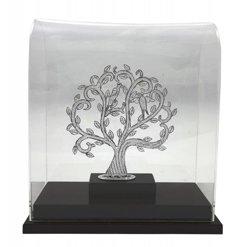 SIL FILIGIRI TREE 9.5X8.5 INCH