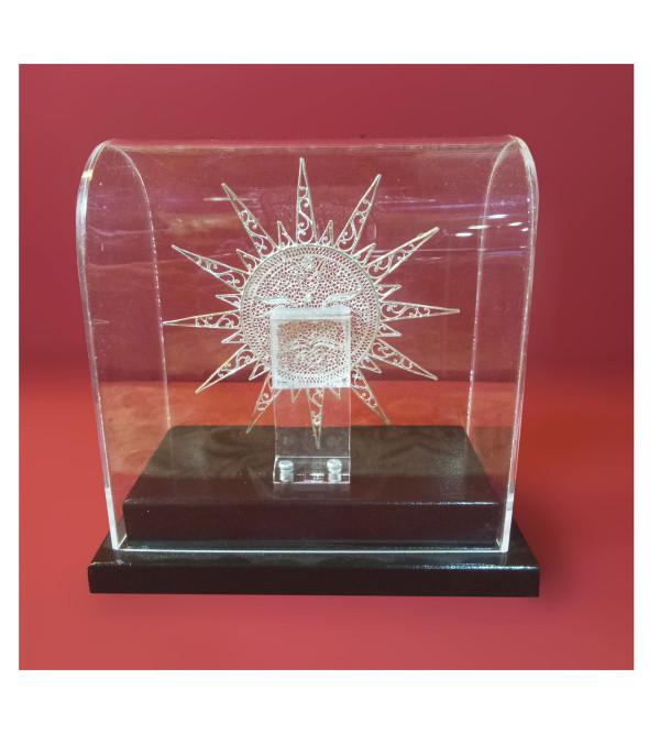 Filigree Silver Handcrafted Sun Artifact