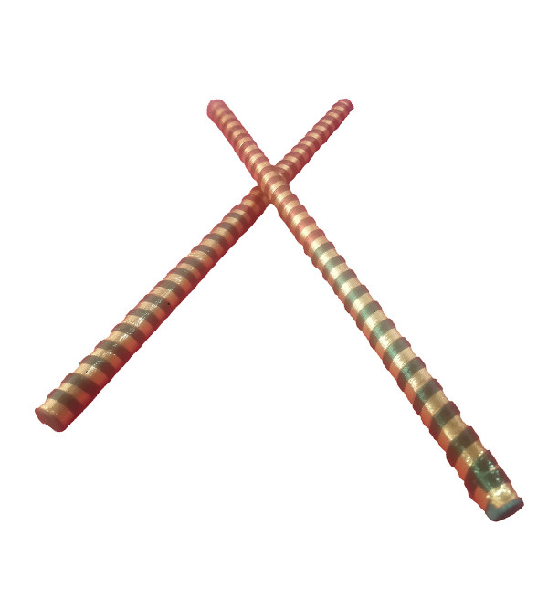Handcrafted Wooden Dandiya pair Size 15 inch