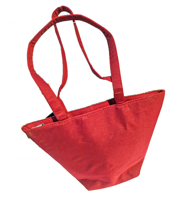 CCIC Bucket Bag With Border Size 13x7 Inch
